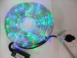 10m led rope light multi colour with multi function controller