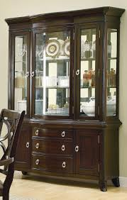 Dining Room Sets With China Cabinet Amazon Com Coaster Home Furnishings 103534h Contemporary Hutch