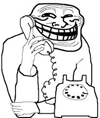 Meme Telephone - rage face script