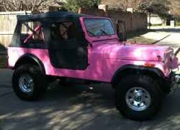 jeep lifted pink what size lift is this jeep cj forums