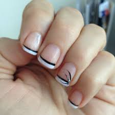 french style nail design how you can do it at home pictures