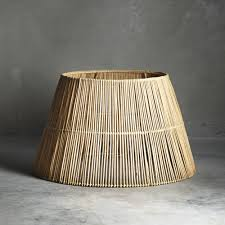 extra large rattan lampshade tine k home design vintage wish