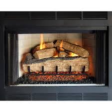 peterson real fyre 30 inch split oak indoor outdoor gas log set