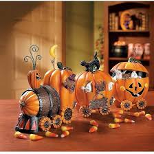 Train Decor Halloween Table Decor The Pumpkin Express Train Decor Gift Ideas