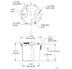drain pump series zoeller pumps