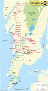 Kerala India Map by Mumbai Metro Map