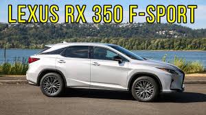lexus saloon sport 2017 lexus rx 350 f sport us spec interior exterior and