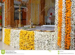 a kerala wedding flower decoration editorial stock image image
