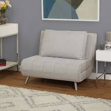simple living victor futon chair bed free shipping today