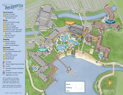 Epcot Orlando Map by Yacht And Beach Club Resort Map Kennythepirate Com An