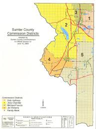 The Villages Florida Map by Sumter Co Maps