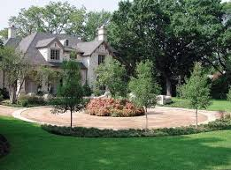 7 best circle drive landscaping images on pinterest driveway