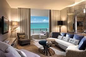 Livingroom Wallpaper Luxury Modern Living Room With Sea View Wallpaper 4689x3126 Id