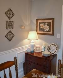 dining room and living room are painted the same color valspar