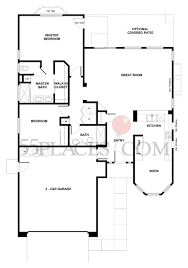 rosetree floorplan 1344 sq ft sun city roseville 55places com