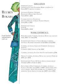 Fashion Design Resume Resume U2014 Kgothatso