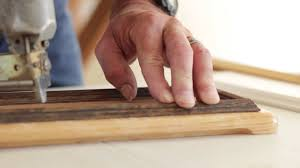 How To Install Upper Kitchen Cabinets How To Install Moulding Trim On Kitchen Cabinet Doors Good Wood