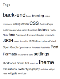 wordpress search layout how to change wordpress theme tag cloud widget layouts