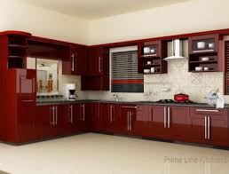 red kitchen furniture cabinet engaging aluminium kitchen cabinet design ideas