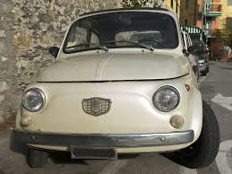 fiat 500 automobile white old fiat