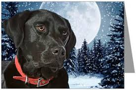 labrador retriever cards ornaments decor
