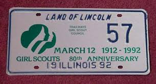 Il Vanity Plates Scouting License Plates