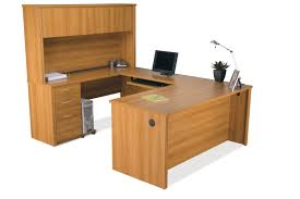 Bestar U Shaped Desk Bestar Embassy U Shaped Computer Desk And Hutch