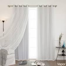 White Sheer Curtains White Sheer Curtains For Less Overstock