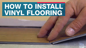 Laminate Flooring Over Concrete Basement How To Install Vinyl Plank Flooring Youtube