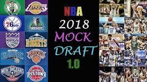 2018 nba mock draft 1 0 michael porter jr marvin bagley iii
