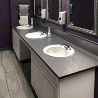 Bath Vanity Top Bathroom Vanity Tops Rugged Solid Plastic U0026 Solid Phenolic