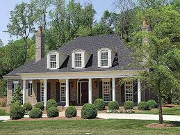 country plantation style house plan 17690lv architectural
