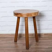 taburete madera taburete bajo madera 3 patas galer祗a de lo antiguo tienda
