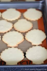 seashell shaped cookies i heart baking february 2016