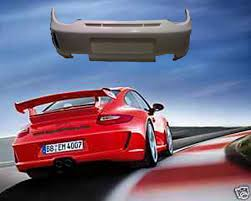 porsche widebody rear porsche 997 2 gt3 rear bumper for 997 gt3 carrera u0026 turbo