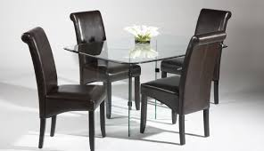 dining room modern glass dining room tables awesome glass dining