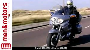bmw r1200cl review 2004 youtube