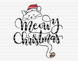 meowy christmas christmas cat drawing at getdrawings free for personal use