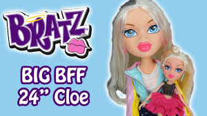 big bratz 24 cloe doll review bratz bff