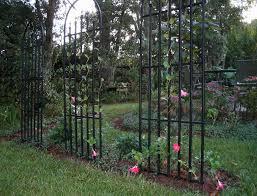 appealing design decor metal garden trellis arch metal wall