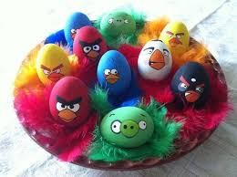 cool easter ideas really cool easter eggs ideas easter eggs angrybirds