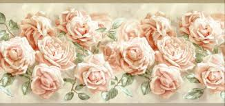 Peach Roses Peach Rose Wallpaper Border Ag042263b Wallpaper U0026 Border