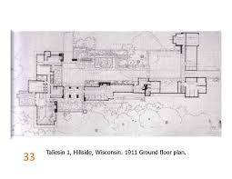 frank lloyd wright floor plan taliesin 1 ground floor plan 1911 frank lloyd wright pinterest