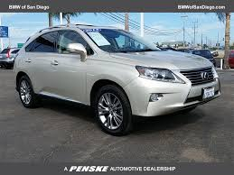 lexus rx san diego 2013 used lexus rx 350 fwd 4dr at bmw north scottsdale serving