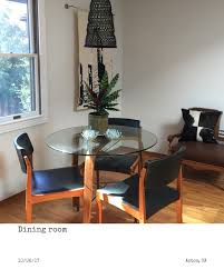 round wood and glass kirk dining table by world market in my