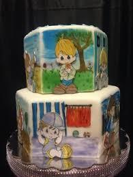 precious moments baby shower cake cake scupltures pinterest