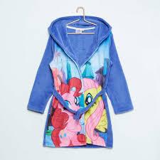 robe de chambre fille kiabi peignoir enfant kiabi avec peignoir my pony fille kiabi 17 00