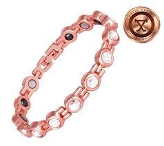 copper bracelet images Swarovski crystal copper womens magnetic bracelet clear jpg