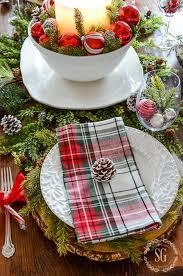 25 inspiring christmas table setting ideas digsdigs