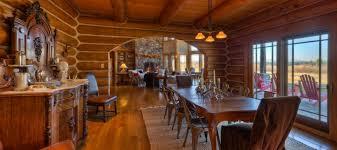 luxury log home interiors targhee log cabin home rustic luxury log